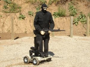 MT-74 Ranger Moving Target with Manikin Mike