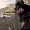 SWAT training with ATS Targets 9-Hole, MT-74 Robot, and PT-61B Turning Target